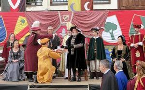 La villa de Medina de Pomar recibe este fin de semana a Carlos V, en su último viaje con destino a Yuste