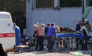 Sangriento atentado terrorista en un instituto en Crimea