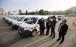 La Junta renueva el parque de mantenimiento de carreteras con 77 nuevos vehículos