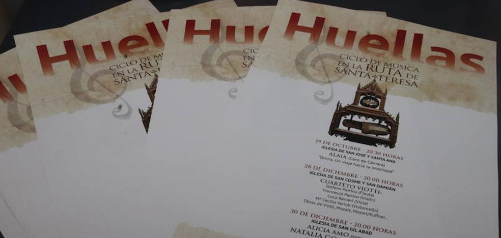 'Huellas', el ciclo de música para enaltecer la figura de Santa Teresa