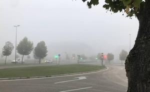 La niebla dificulta la circulación en varias carreteras de Castilla y León