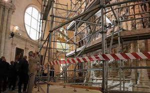 La restauración del trasaltar de la Catedral arrancará en 2019, mientras avanzan los trabajos previos