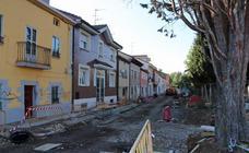 Obras en el barrio de La Ventilla
