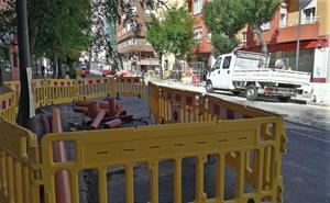 Obra a obra, Aguas de Burgos ha invertido este año casi 1 millón en renovación de la red municipal