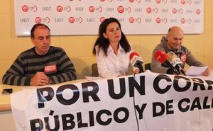 Los sindicatos aseguran que Correos ha perdido 100 empleos a lo largo de los últimos años