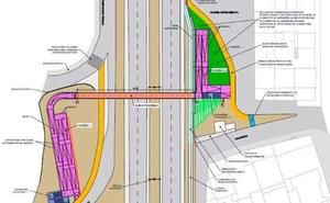 La pasarela del barrio de El Crucero será «completamente diferente» a la anterior