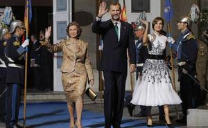 La Reina visitará la Fábrica Scorsese y el Rey recibirá al patronato de la Finba