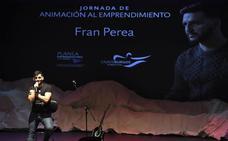 El cantante Fran Perea protagoniza la Jornada de animación al emprendimiento de la Fundación Caja de Burgos