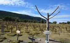 La bienal AR&PA invita a Sad Hill a presentar la recuperación del cementerio, pendiente de la declaración de BIC