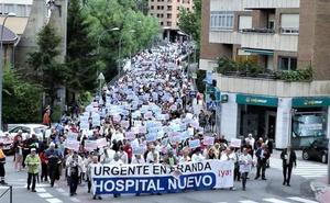 Los arandinos volverán a pedir en noviembre un nuevo hospital y que se respeten las plazas