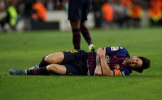 Leo Messi se pierde el clásico