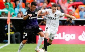 Valencia y Leganés se reparten los puntos