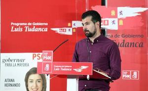 Tudanca subraya el papel del PSOE para alcanzar un pacto industrial y de creación de empleo