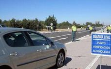 Guardia Civil tramita nueve denuncias con conducir bajo los efectos del alcohol o las drogas