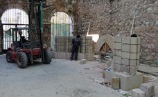 El arco de la Isla integra piezas originales recuperadas en Cerezo de Río Tirón