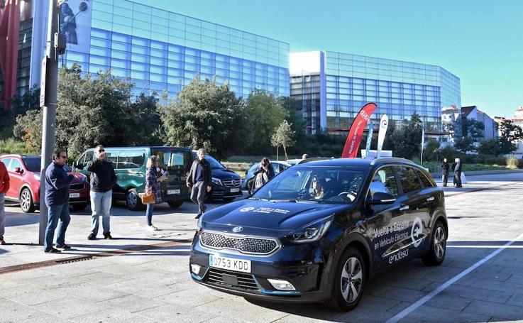 La Vuelta a España en coche electríco