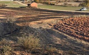 Investigan al presunto autor de un incendio en las proximidades de Villadiego