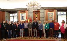 Burgos recibe a los profesores del proyecto 'Atelier for steam' de Erasmus+