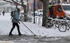 Llega la nieve a Burgos