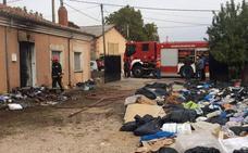 Herida una mujer de 92 años en un incendio en Villaquirán de los Infantes