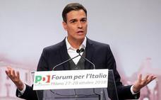 Sánchez afirma que en España «la responsabilidad cotiza al alza y el extremismo a la baja»