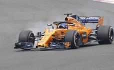 Alonso, pese al abandono: «Ha sido un día mágico»