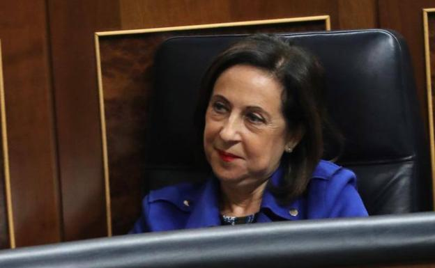 La ministra de Defensa, Margarita Robles./Efe