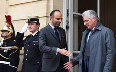 Díaz-Canel inicia en Francia su primera gira como presidente cubano