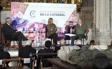 García de Cortázar asegura que 'Conversaciones en la Catedral' sirve para «fomentar el patriotismo cultural»
