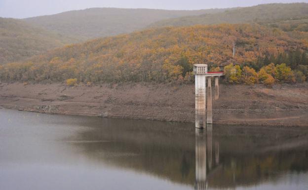 Los embalses del Arlanzón cierran el primer mes del año hidrológico al 58,14% de su capacidad