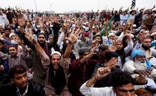 El Gobierno de Pakistán negocia con los islamistas opuestos a la absolución de la mujer cristiana