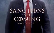 Trump recurre a 'Juego de tronos' para amenazar a Irán con las sanciones