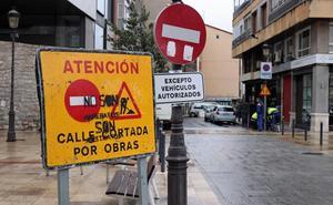 La plaza Hortelanos se corta al tráfico y este martes comenzarán las obras