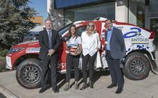 Grupo Antolin volverá a apoyar a Cristina Gutiérrez en el Dakar 2019