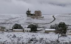 La nieve regresa por el noroeste y el sureste de la provincia burgalesa