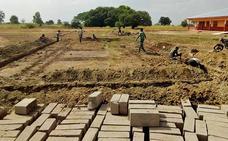 Team4Ghana, una ONG con raíces burgalesas, ha comenzado a construir una escuela en el país africano