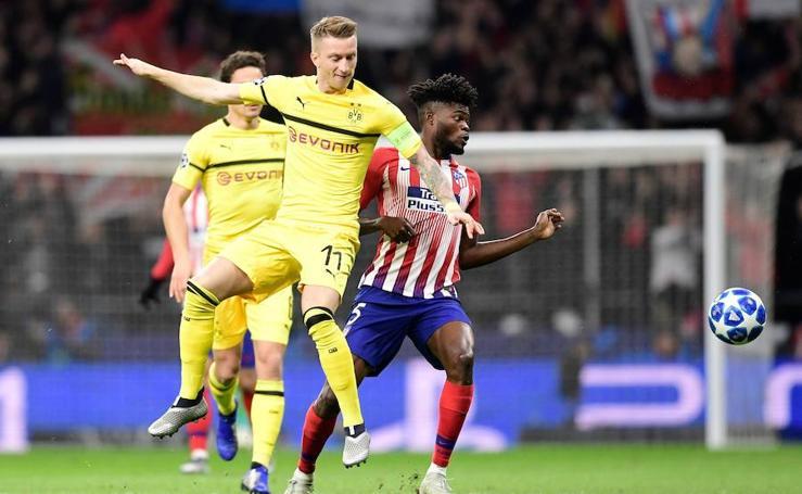 Las mejores imágenes del Atlético de Madrid-Borussia Dortmund