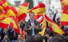 Casado excluye al PSOE de una cumbre de constitucionalistas en el Congreso