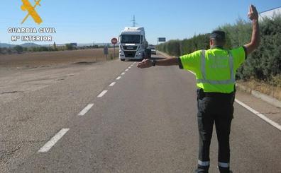 Detenida una conductora por dar positivo en alcohol, cocaína y anfetaminas en Palencia