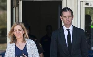 La Infanta Cristina desmiente su divorcio con Iñaki Urdangarin