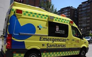 Heridas tres personas en una colisión frontal entre dos turismos en la N-I en Cubo de Bureba