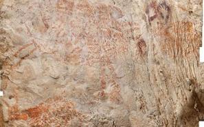 El primer arte figurativo está en Borneo
