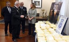 Cinco detenidos y 90 kilos de speed incautados en acción antidroga en Burgos