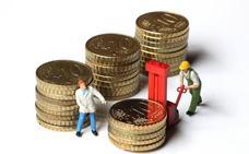 Los salarios más bajos de Castilla y León suben en diez años trece veces menos que los más altos