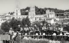 Así se hizo el calendario solidario con la ELA de los Bomberos de Burgos