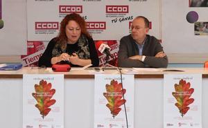 CCOO organiza una jornada de reflexión sobre el 8-M desde el punto de vista sindical