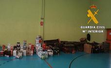 Detienen a un grupo delictivo que cometió robos con fuerza en la provincia de Burgos