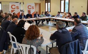 Políticos de Cs expresan su «preocupación por el abandono del mundo rural» de la Diputación