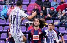 Valladolid y Eibar empatan sin goles en Zorrilla