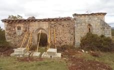 El Patrimonio burgalés en peligro XXIII: ermita de la Blanca de Hoyuelos de la Sierra
